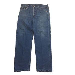 New UnWorn Levi's 501 Button Fly Straight Jean 36